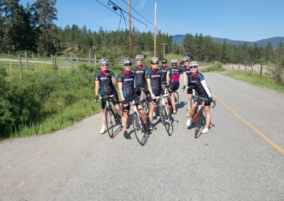 Okanagan wknd Rolling out