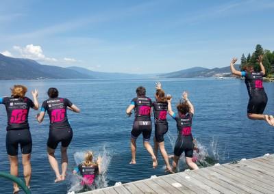 Okanagan wknd lake jump 2