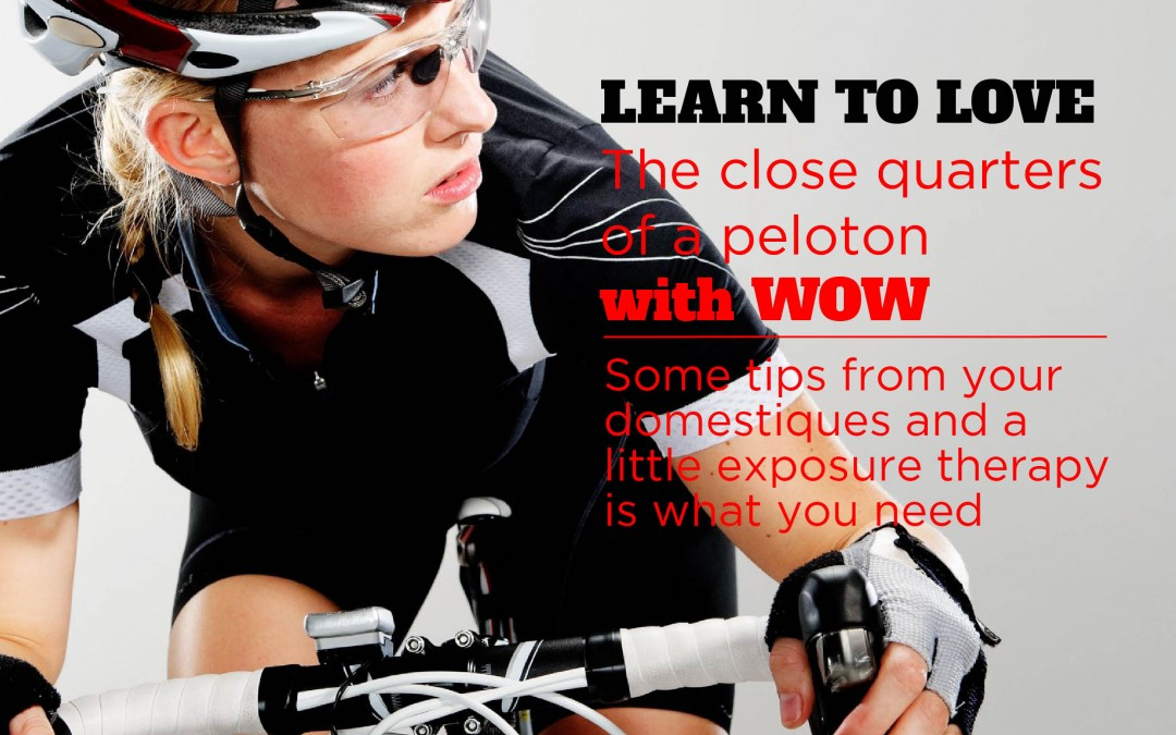 Learn to Love the Close Quarters of a Peloton with WOWride